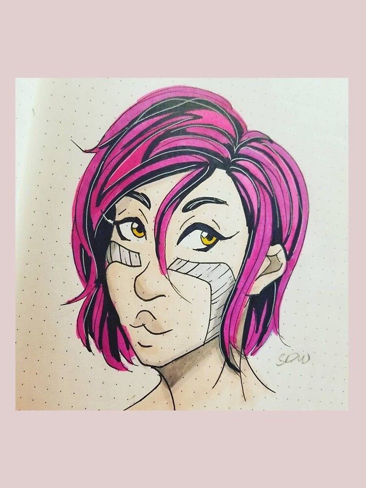 Pink-haired Alita! by DawnFlame