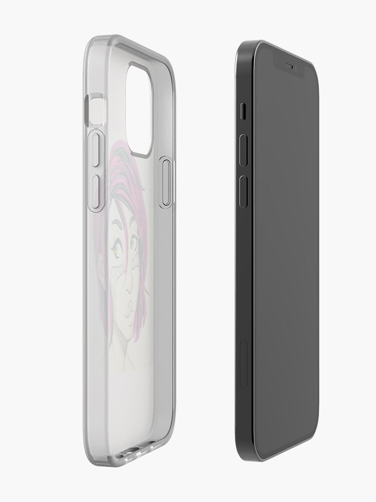 Alternate view of Pink-haired Alita! iPhone Case & Cover