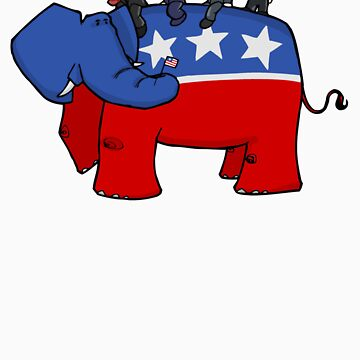 GOP Elephant by 72ndRedPenguin