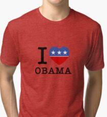 I Heart Obama Tri-blend T-Shirt