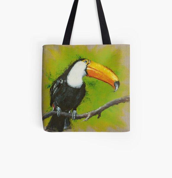 Toucan Tote bag doublé