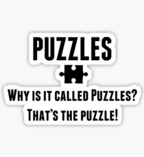 Puzzles Sticker