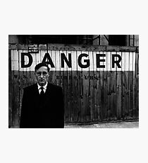 DANGER Photographic Print