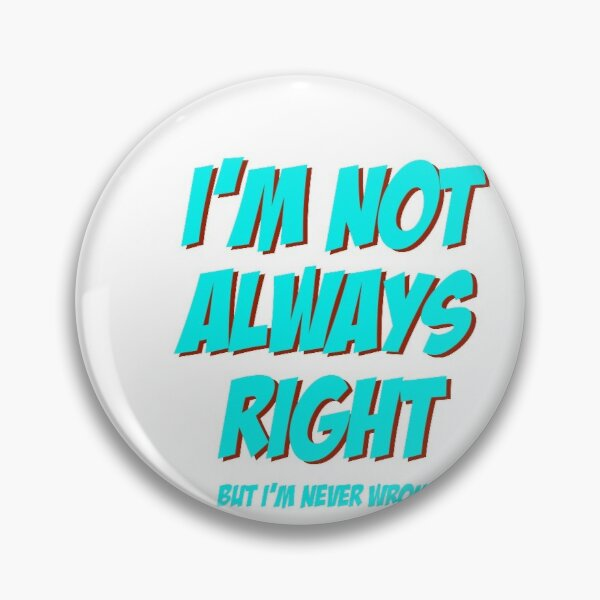 Trust Me I/'m a Mermaid Funny Humor Pinback Button Pin Badge