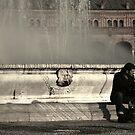 Fountain in Seville by Tony Hadfield