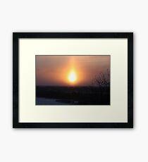 Daytime Framed Print