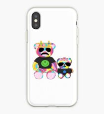 Rainbow Bear with shirts iPhone Case