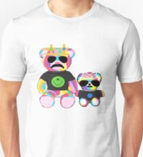 Rainbow Bear with shirts Unisex T-Shirt