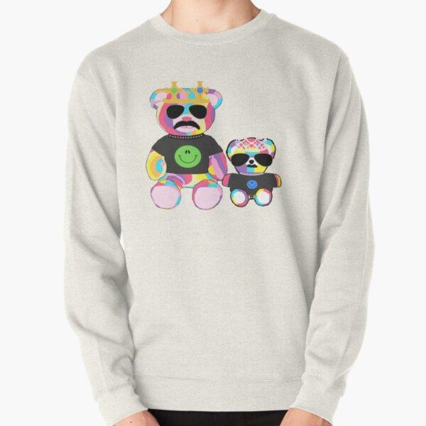 Rainbow Bear with shirts Pullover Sweatshirt