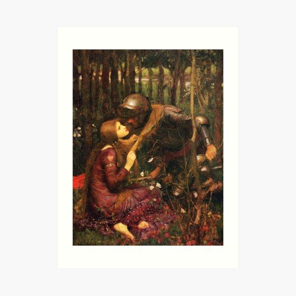 John William Waterhouse - La Belle Dame sans Merci Art Print