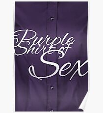 The Purple Shirt of Sex Poster