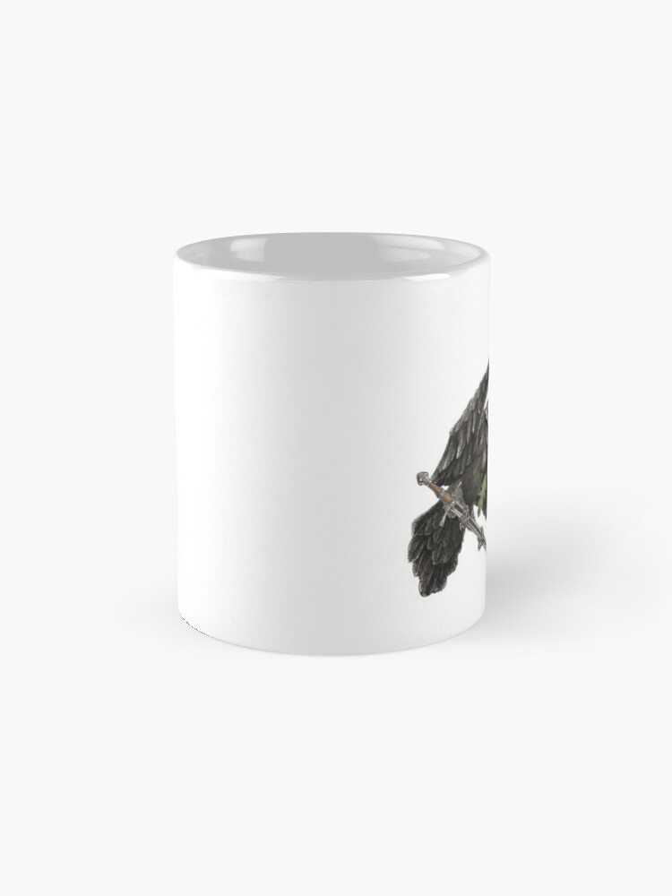 Alternate view of Morrigan Mug
