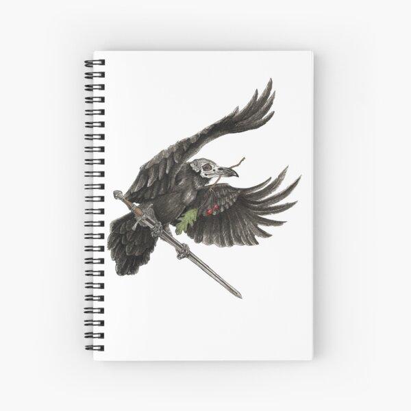 Morrigan Spiral Notebook