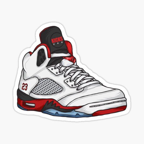 Shoes Fire Reds (Kicks) Sticker