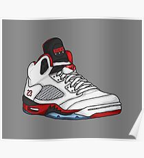 Shoes Fire Reds (Kicks) Poster