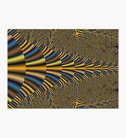 Egyptian Digital Fractal Photographic Print