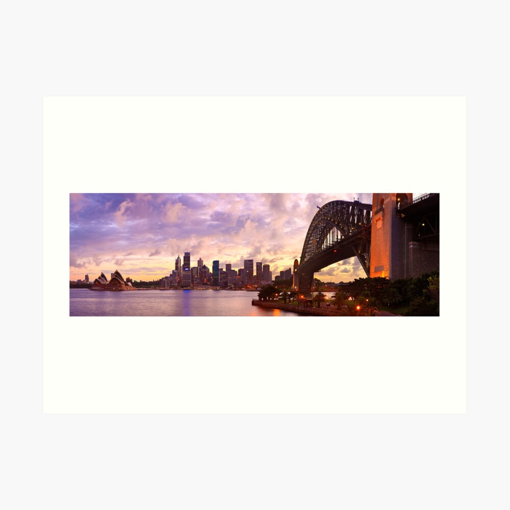 Sydney Twilight, New South Wales, Australia Art Print