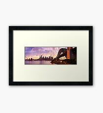 Sydney Twilight, New South Wales, Australia Framed Print