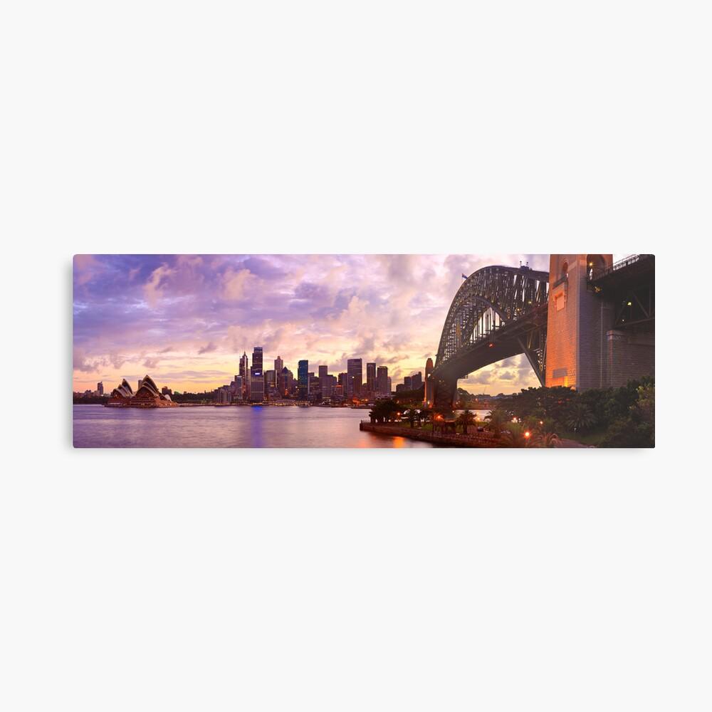 Sydney Twilight, New South Wales, Australia Metal Print