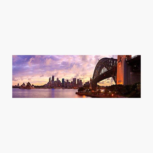 Sydney Twilight, New South Wales, Australia Photographic Print