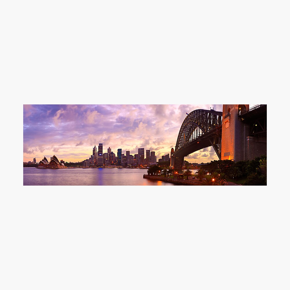 Sydney Twilight, New South Wales, Australia Photographic Print