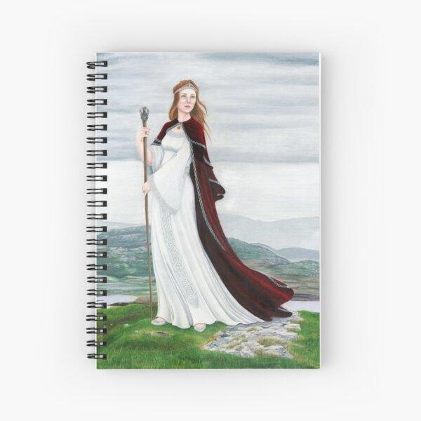 Queen of Stones Spiral Notebook