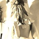 The great bird human by Valeria Dalmon