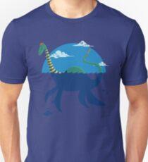 """Loch""""Ness"""" - Medium Blue T-Shirt"""