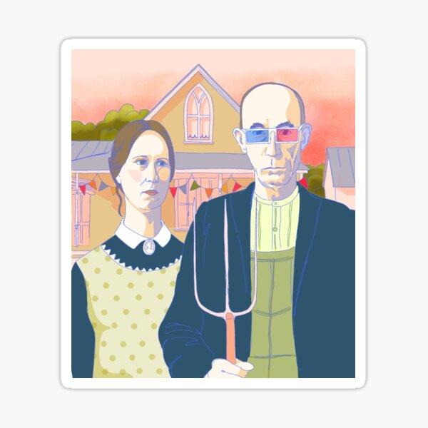 American Gothic Sticker