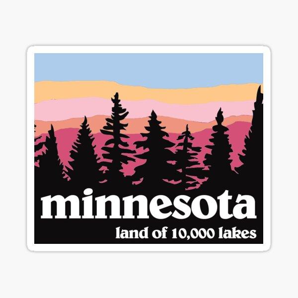 Minnesota im Freien Sticker