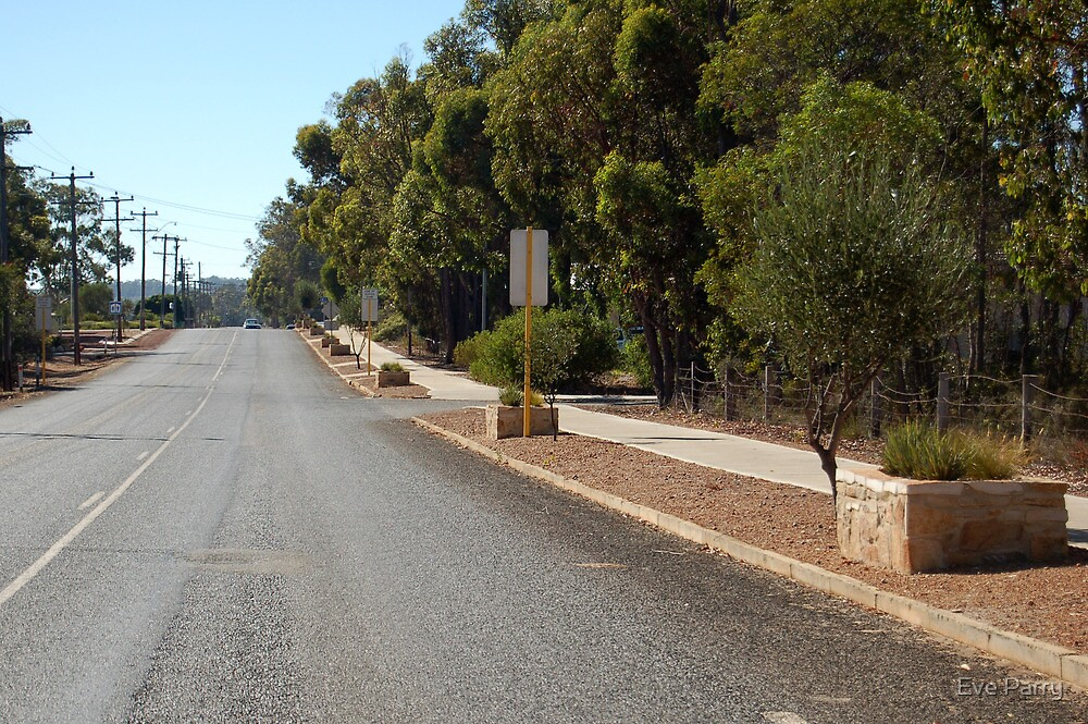 Frankland River Main Street by Eve Parry