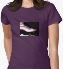 Skate On Womens Fitted T-Shirt