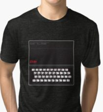 Sinclair ZX81 Tri-blend T-Shirt