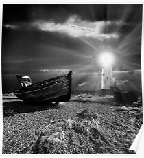 fishing boat graveyard 7 Poster