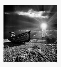 fishing boat graveyard 7 Photographic Print