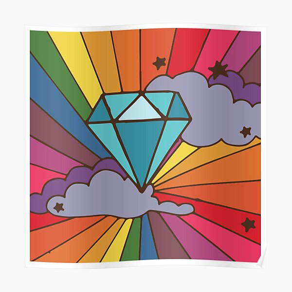 Shine On You Crazy Diamond Poster