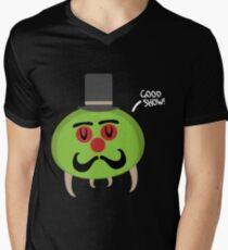 Gentleman Metroid Mens V-Neck T-Shirt
