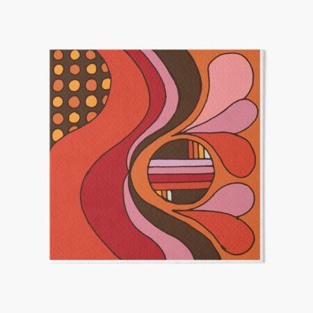 Curve Art Board Print