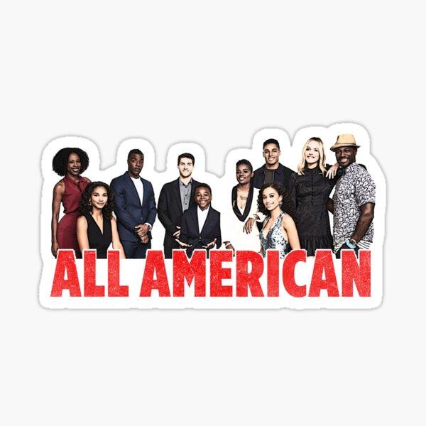 All American Cast Sticker