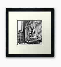 59th Street Penn Plaza Framed Print