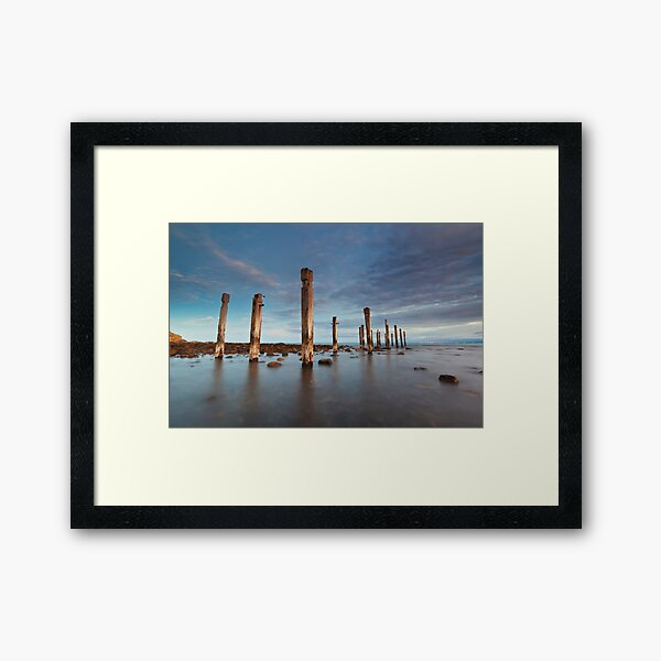 Myponga Beach Jetty Framed Art Print