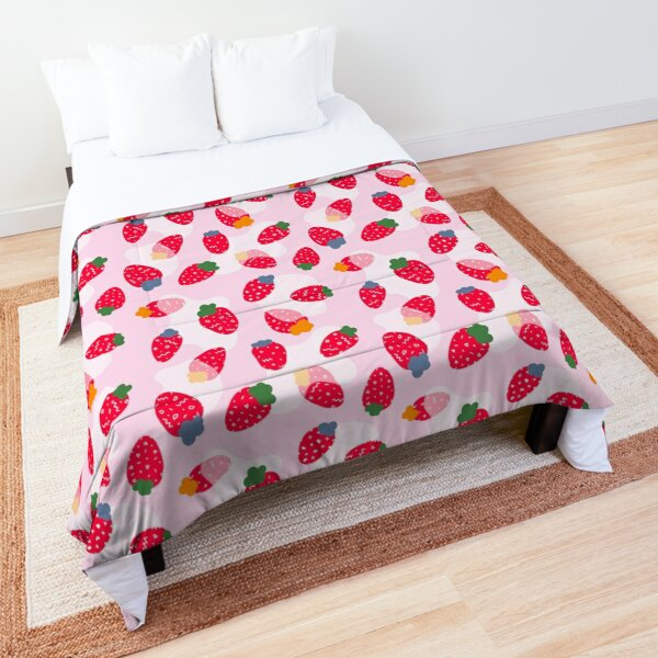 Memphis strawberries Comforter
