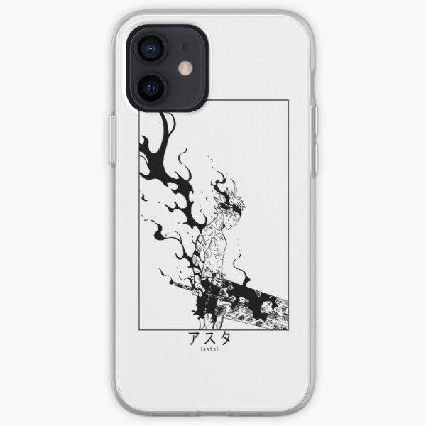 Asta Demon Form Black Clover  iPhone Soft Case