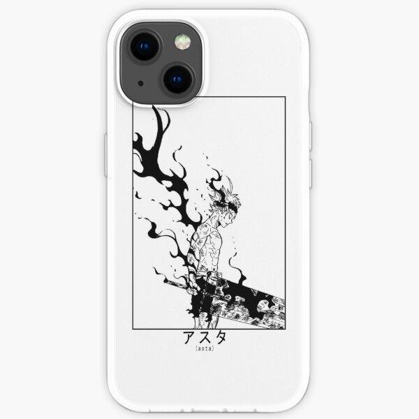 Asta Demon Form Black Clover  iPhone Soft Case