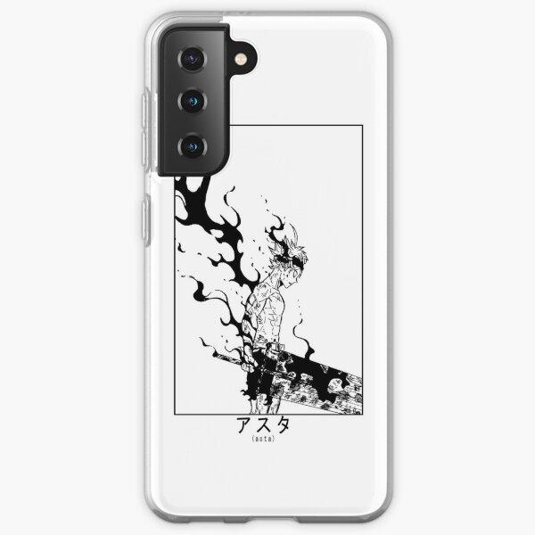 Asta Demon Form Black Clover  Samsung Galaxy Soft Case