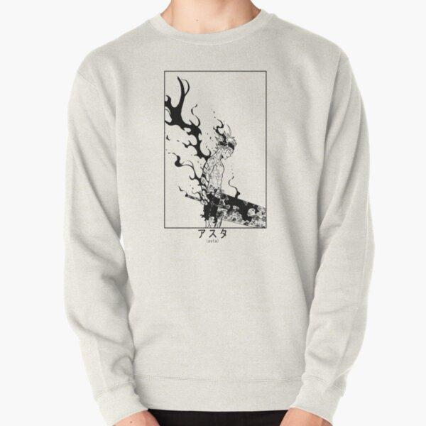 Asta Demon Form Black Clover  Pullover Sweatshirt