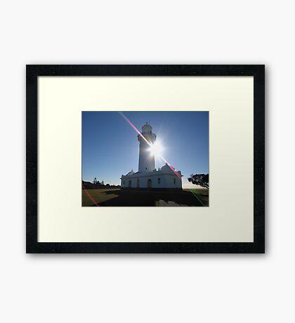 Macquarie  LIGHT  HOUSE Framed Print