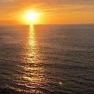 Sunset Reflexions - Reflexiones de la Puesta del Sol by PtoVallartaMex