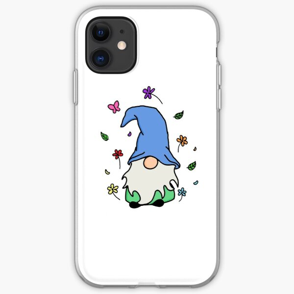 Nature Gnome Simplistic Doodle- Stickers, Cases, Clothing, etc. iPhone Soft Case