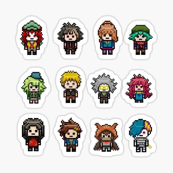 Your Turn To Die Pixels Sticker